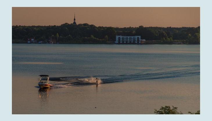 wake beach see panorama
