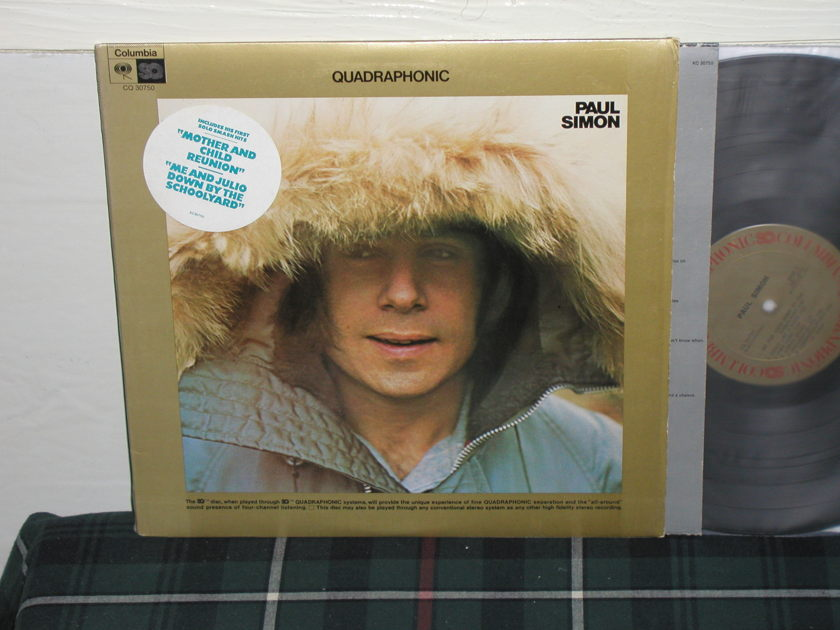 Paul Simon - Paul Simon (1st) (Pics) SQ Quad Columbia Gold labels