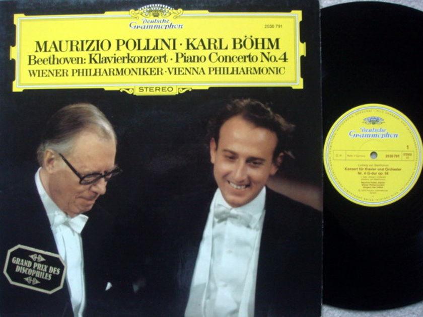 DG / POLLINI-BOHM, - Beethoven Piano Concerto No.4, MINT!