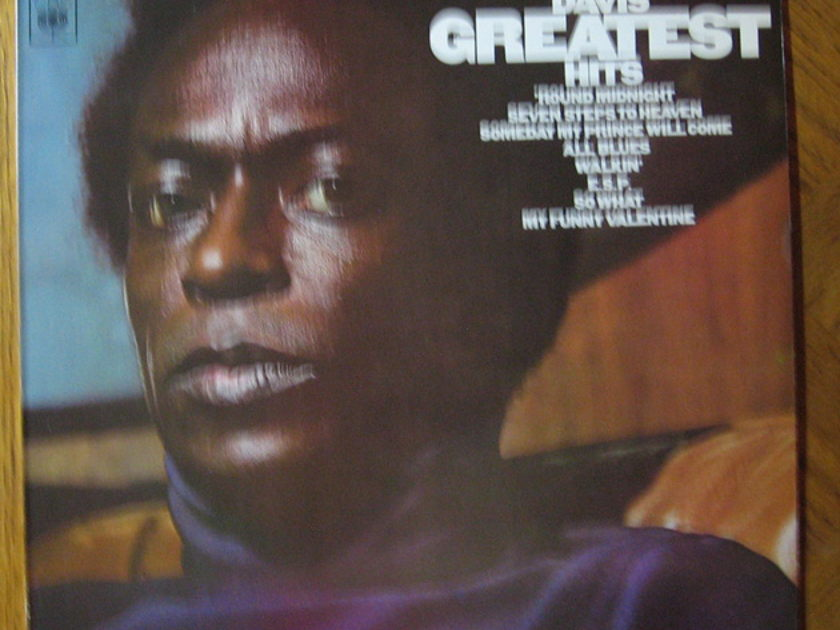 Miles Davis - Miles Davis' Greatest Hits  - 1969 UK CBS ‎-  S 63620
