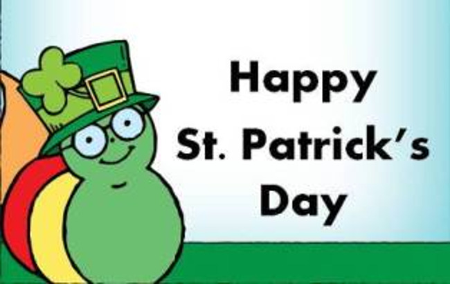 St. Patrick's Day is Wednesday March 17th-Don't Forget to Wear Green!