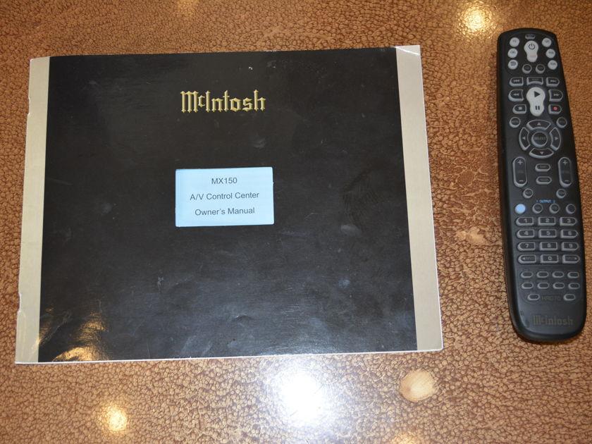 McIntosh MX-150 A/V Surround Processor - Great condition! (see pics)