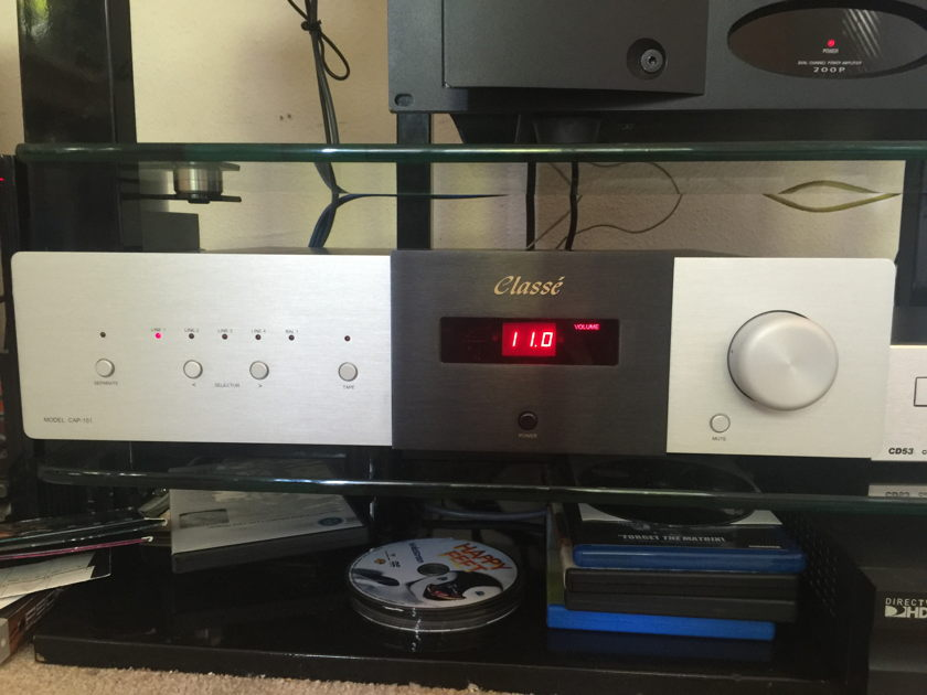 Classe CAP-151 Integrated Amplifier In Like New Condition