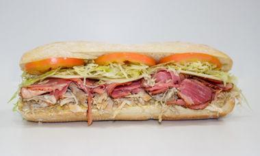 Big Star Sandwich Turkey,Corned Beef,Swiss