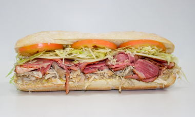Big Star Sandwich Turkey, Corned Beef & Swiss