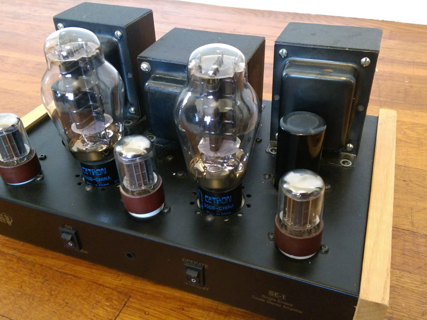 Cary AES SE-1 Single-Ended 300B Triode Tube Amp - Great & Rare