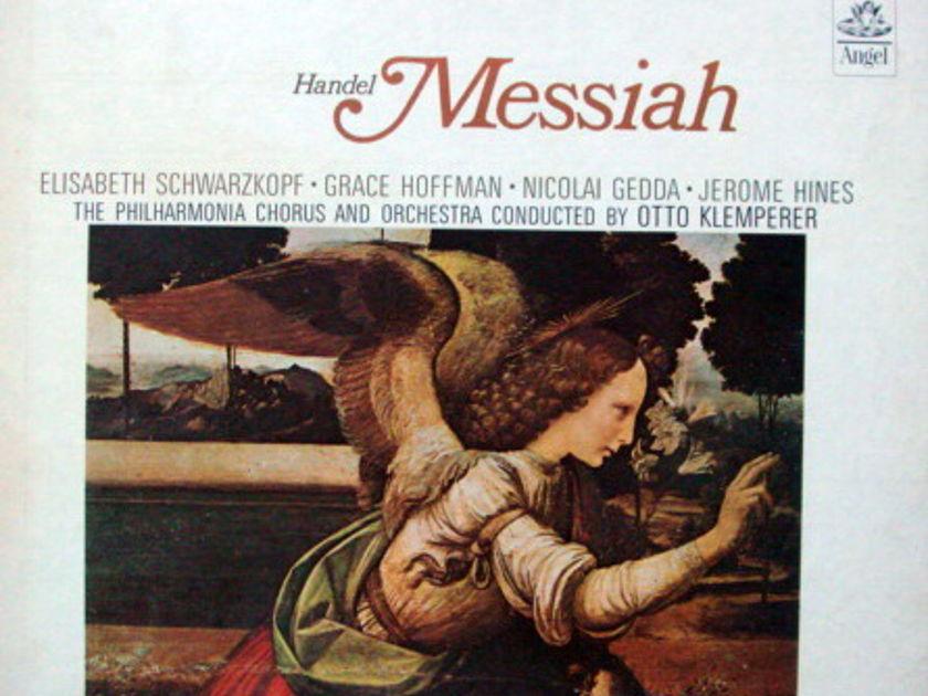 EMI Angel / KLEMPERER-SCHWARZKOPF, - Handel Messiah, MINT, 3LP Box Set!