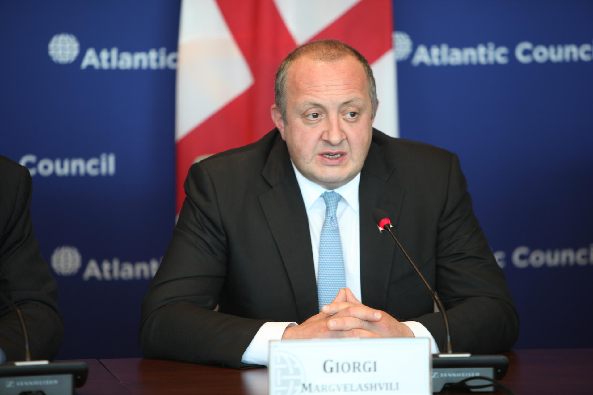 Georgia's President Wants Security Guarantees for Eastern Partnership Countries