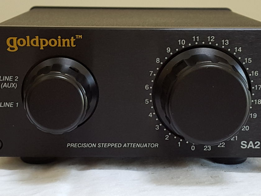 Goldpoint SA2-47 Barely Used Passive Preamp