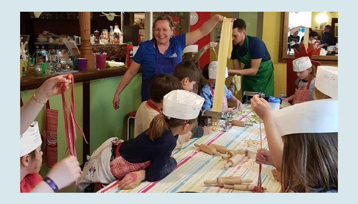 kinder kochschule kindergeburtstag als chefkoch