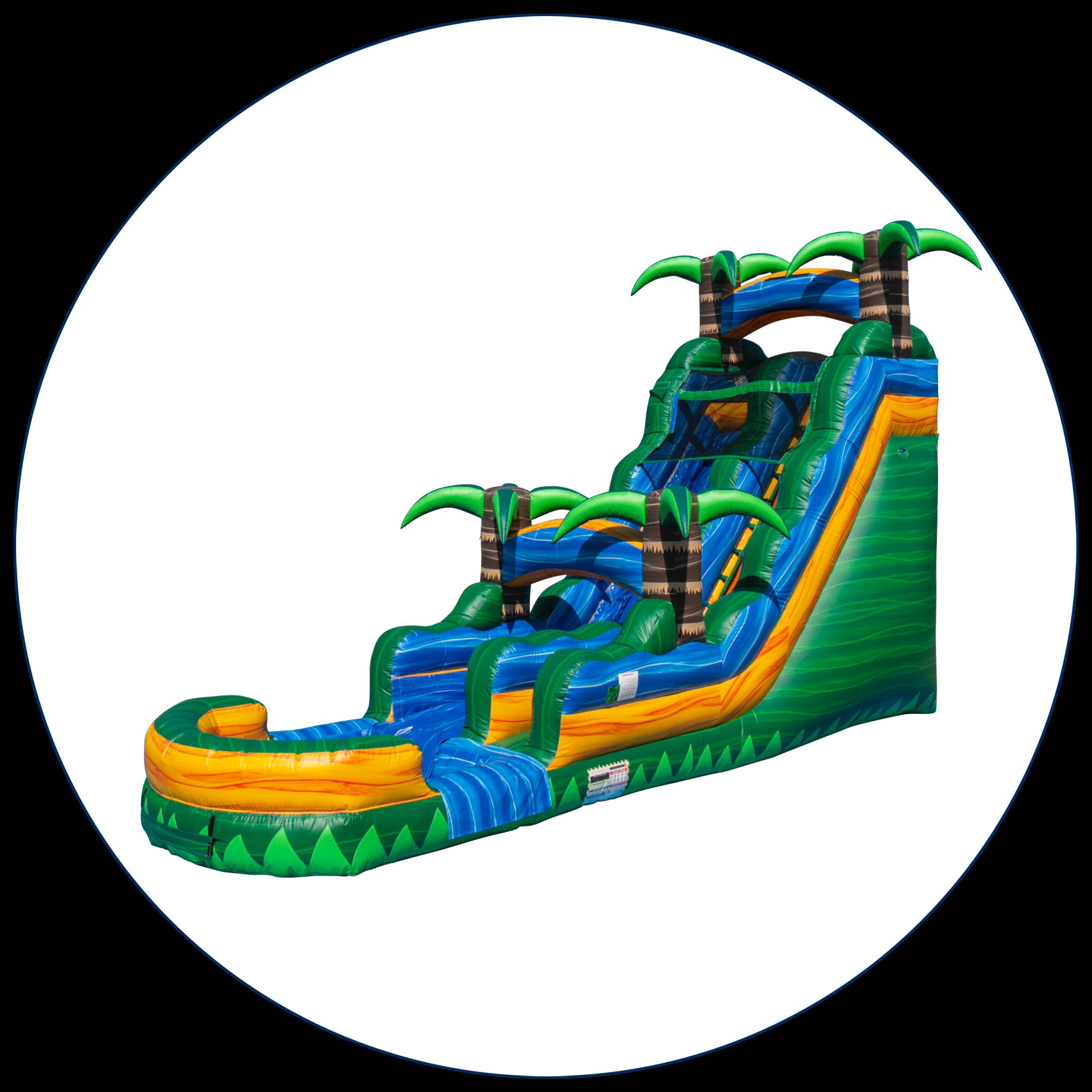 18 Ft. Water Slides