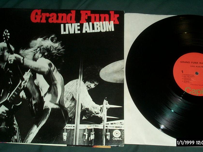 Grand funk railroad  - Live Album 2 lp nm
