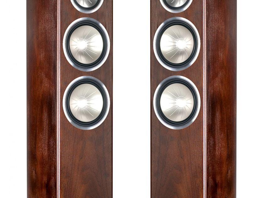 Monitor Audio Gold 300 Speakers (Dark Walnut Veneer) - Mint Demo's; 1 Yr. Warranty; 20% Off; Free Shipping