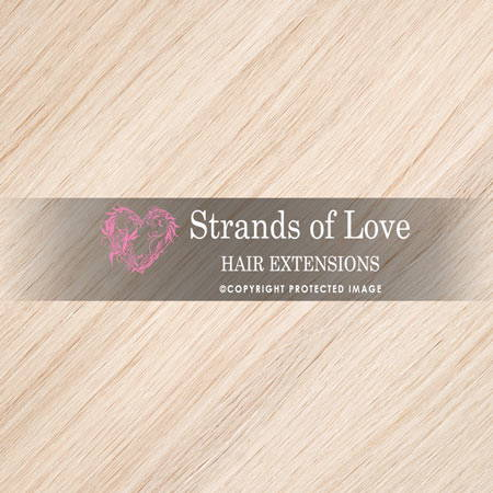 Strands Of Love Hair Extensions Colour Platinum Blonde Silver