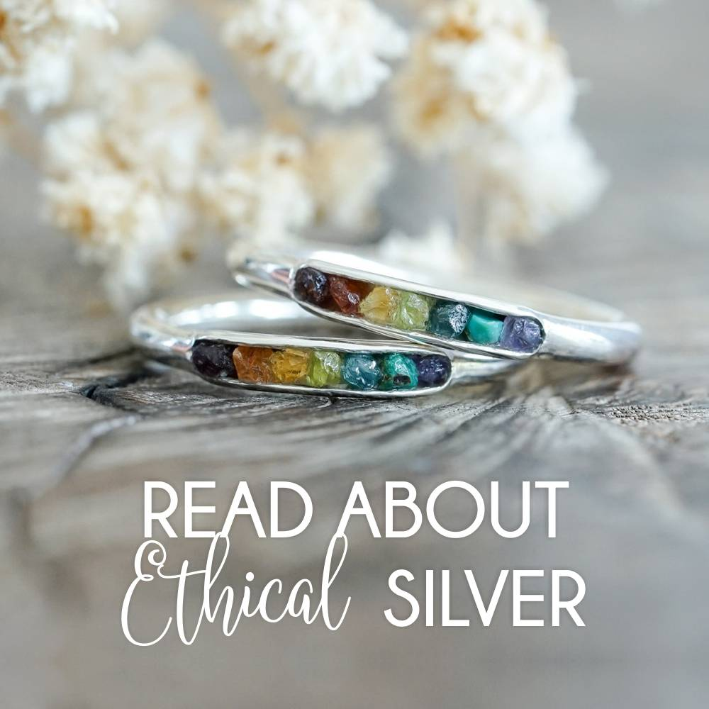 The story behind recycled silver.