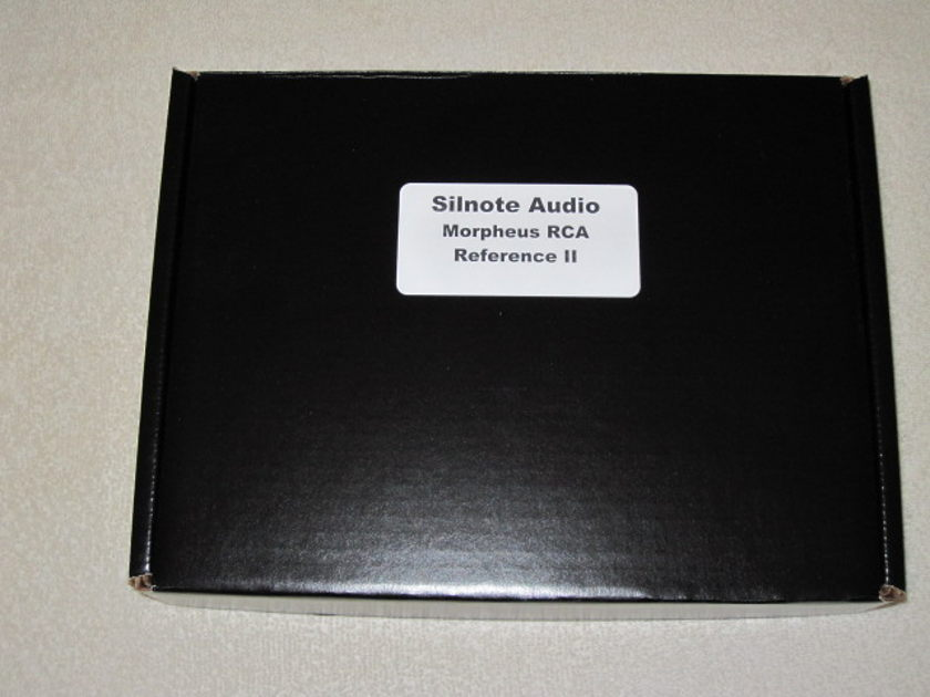 Silnote Audio Morpheus Reference II RCA Interconnects