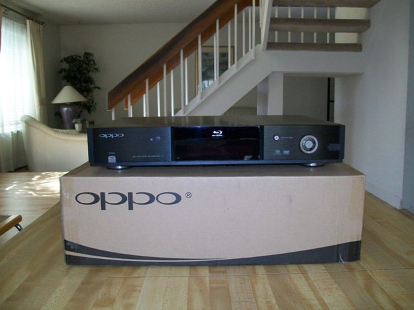 Modwright Oppo  BDP-83 Universal Player