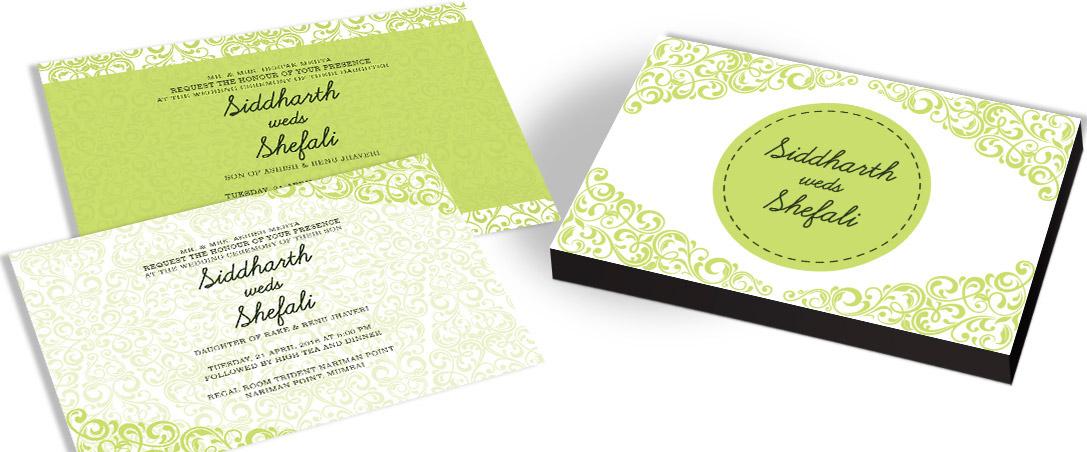 Amazing Wedding Invitation