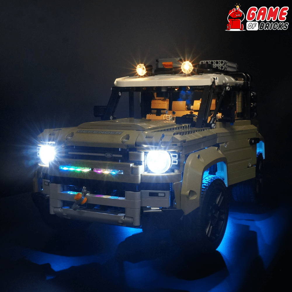 lego land rover light kit