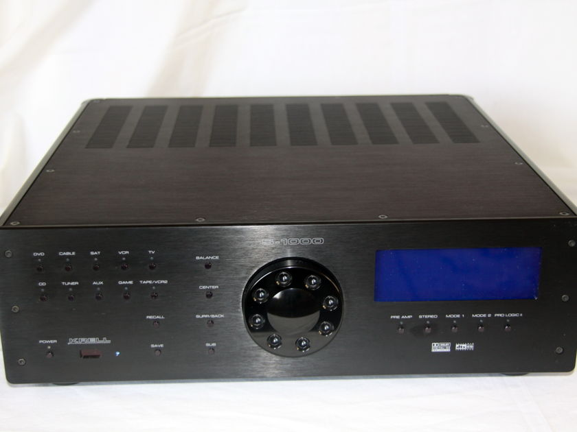 Krell processor S-1000 Black with HDMI Excellent OBM + remote