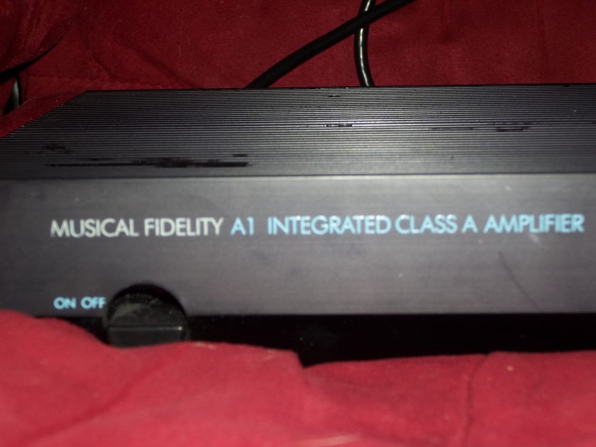 Musical Fidelity  A1 Class A integrated Amplifier