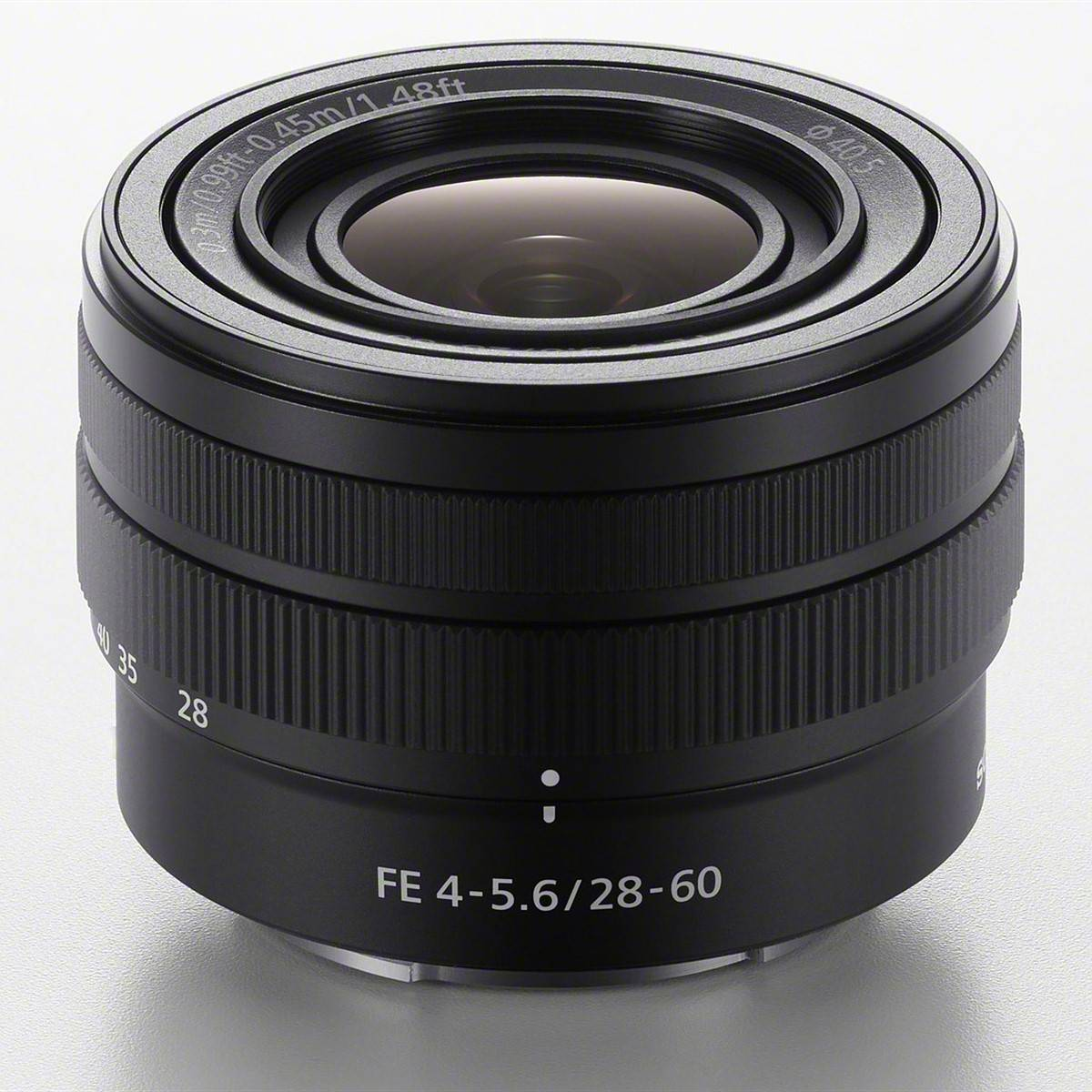 Sony Alpha 7C with 28–60 mm zoom lens