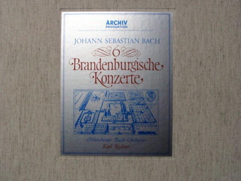 Archiv / RICHTER, - Bach 6 Brandenburg Concertos, MINT, 2LP Box Set!