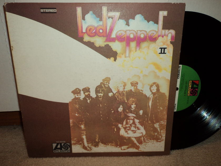 Led Zeppelin II (Canada Import) LP - 1977 Atlantic KSD 19127 Nice Record VG++