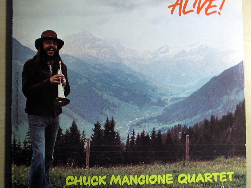 Chuck Mangione Quartet  - ALIVE!  - 1972 Orig Mercury SRM 1 650