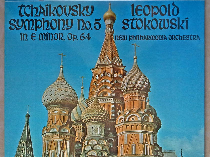 Sealed LONDON Phase 4   STOKOWSKI/TCHAIKOVSKY - Symphony No. 5