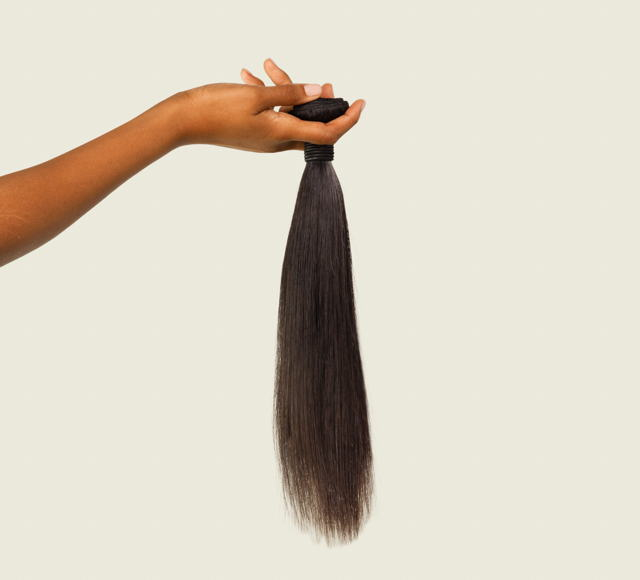 Straight Natural Black Bundles Mayvenn