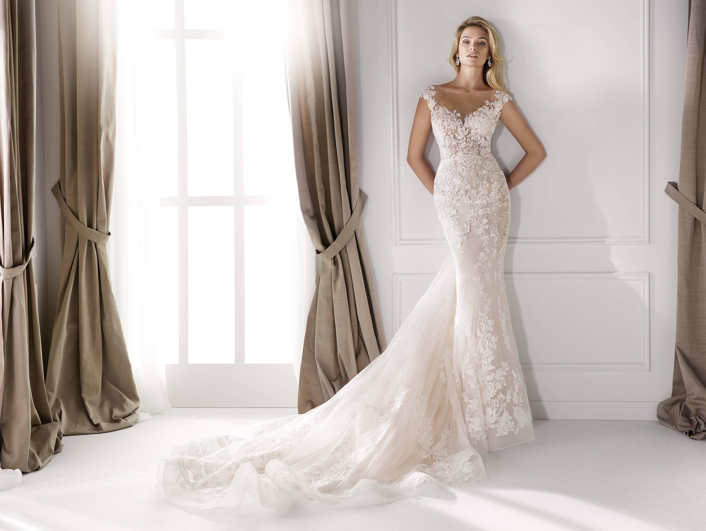 NICOLE MILANO NIA20671 WEDDING DRESS
