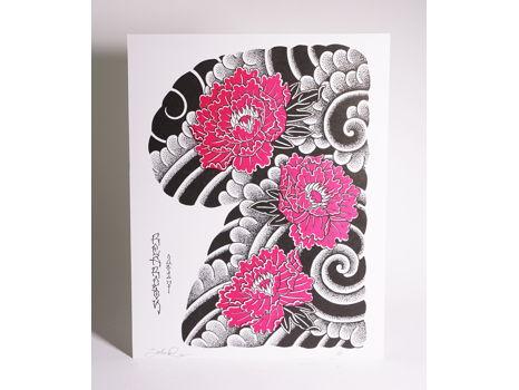 Greenpoint Tattoo - Japanese Design Print