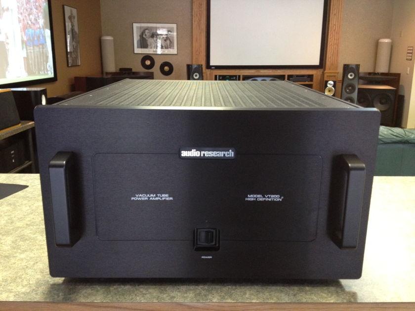 Audio Research VT-200, New Complete Tube Set, Black Finish