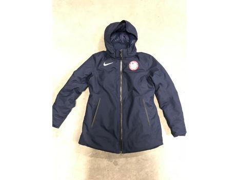 Mikaela Shiffrins' Official 2018 U.S. Olympic Training Jacketby Nike Size M