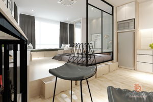 meliusform-design-studio-minimalistic-malaysia-wp-kuala-lumpur-bedroom-dry-kitchen-interior-design
