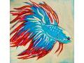 Blue Betta by Tracy Wilburn