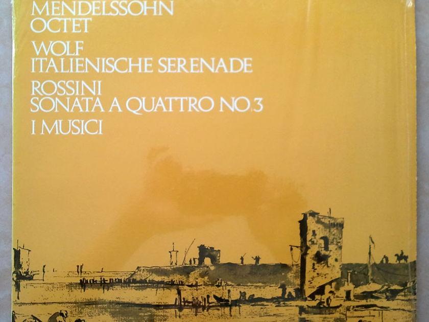 PHILIPS | I MUSICI/MENDELSSOHN - Octet/WOLF Italian Serenade/ROSSINI Sonatas for Strings No. 3 / NM