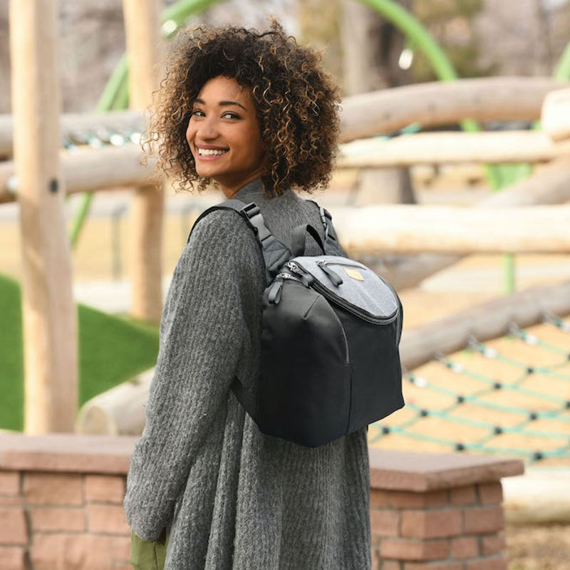 6-in-1 diaper backpack & travel organizer