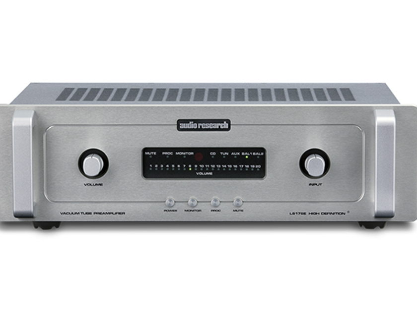Audio Research LS-17SE Line-Stage Preamplifier Brand-New Factory-Sealed