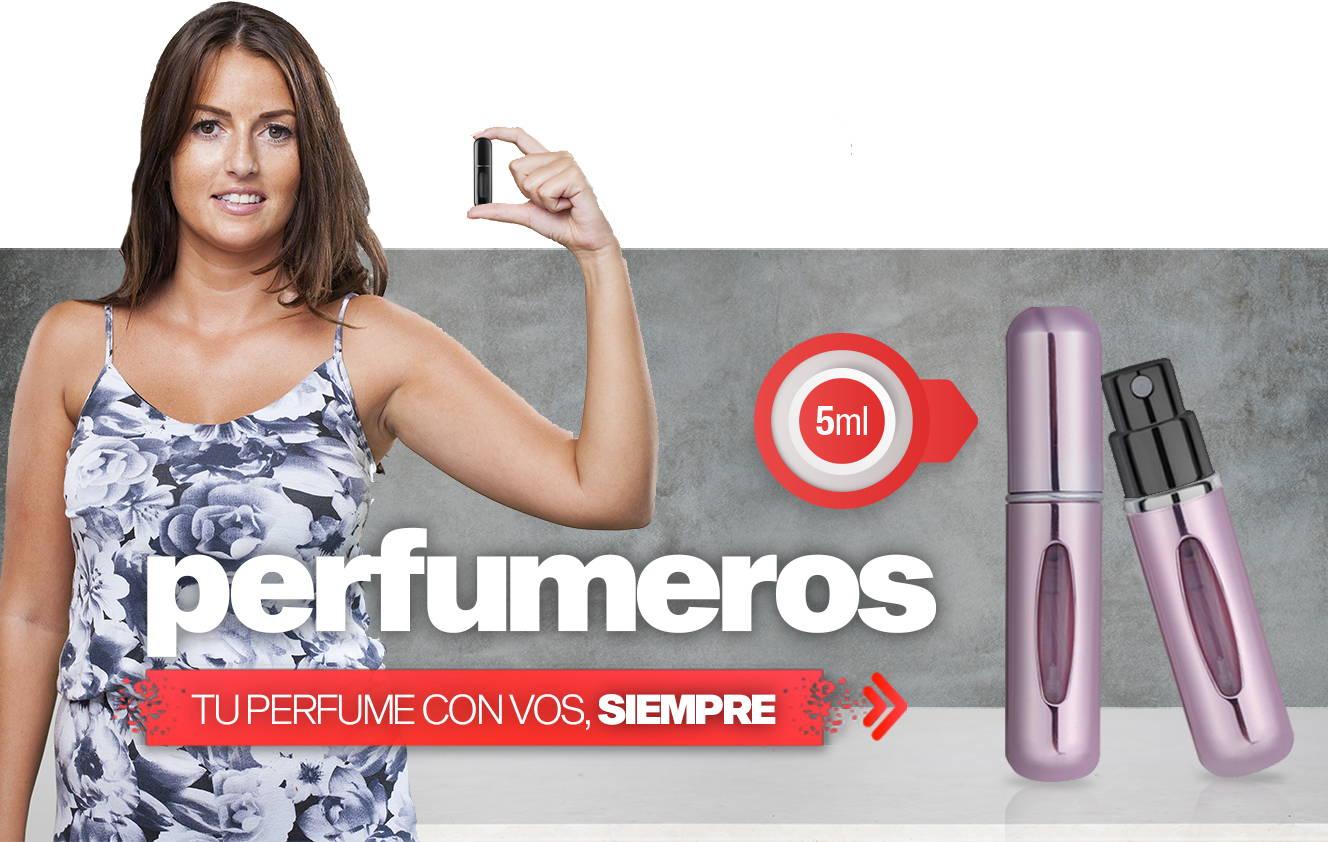 Perfumeros Portatilas para fragancias importadas
