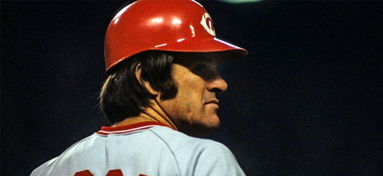Pete Rose Autograph Signing