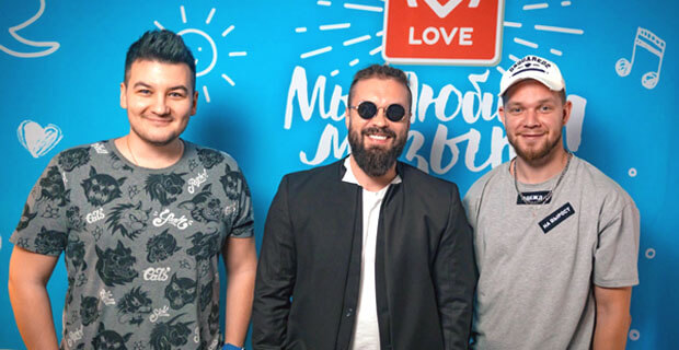 BURITO в гостях у Красавцев Love Radio - Новости радио OnAir.ru