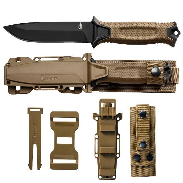 Gerber, Gerber Strong Arm, Gerber StrongArm, Gerber Knife, Full Tang Knife, Camping knife, EDC, Gerber Blade, EDC Utility Knife,  Survival Knife, Camping Knife, Gerber Survival Knife