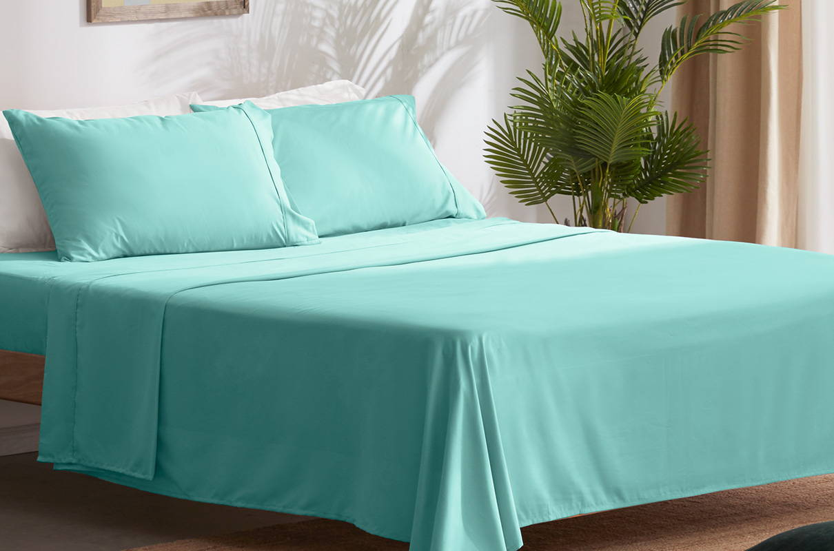 sleep zone bedding website store products collections cooling solid sheet sets gray grey