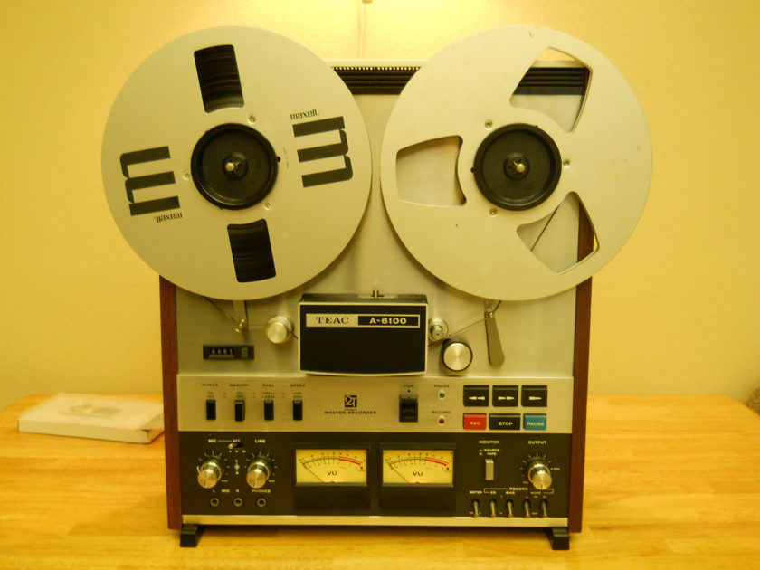 Teac    A 6100 reel to reel  Mester  Recorder