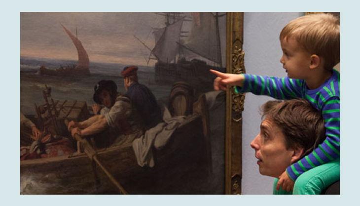 stiftung deutsches historisches museum vater mit kind