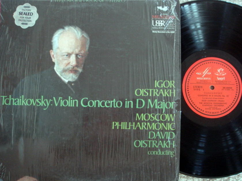 EMI Angel Melodiya / OISTRAKH, - Tchaikovsky Violin Concerto, MINT!