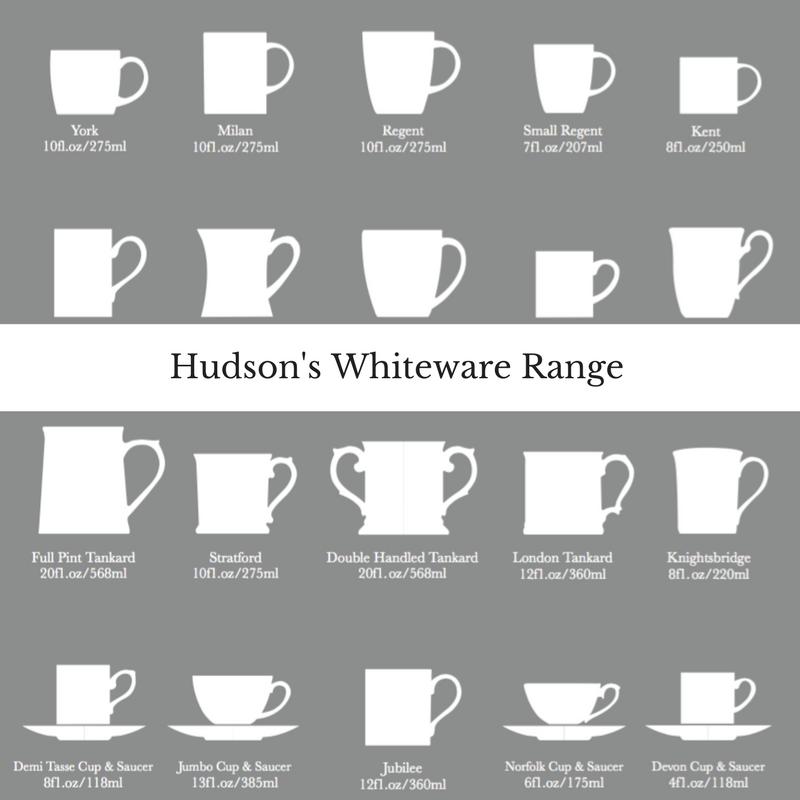 Hudson and Middleton's whiteware range brochure
