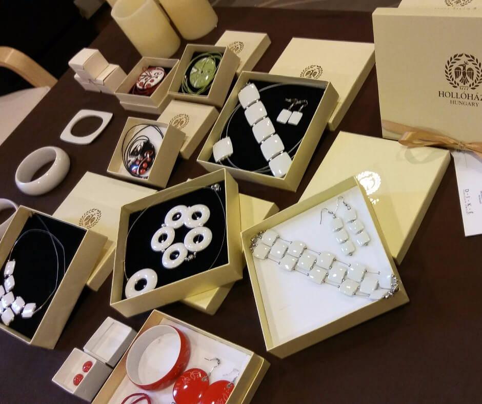 Hollohaza Porcelain Jewelry at 3 Barn Swallows